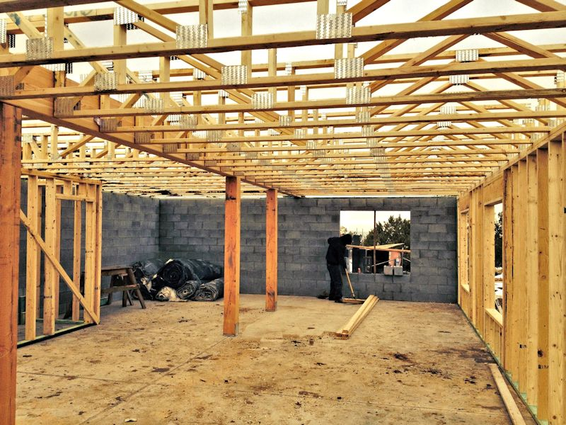 Building framing for Basements in arizona